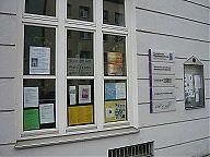 Fenster Evang. Migrationszentrum